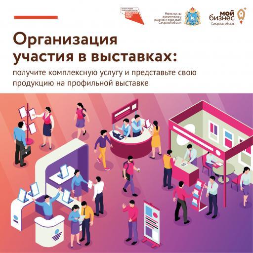 Комплексная услуга «Организация участия в выставка